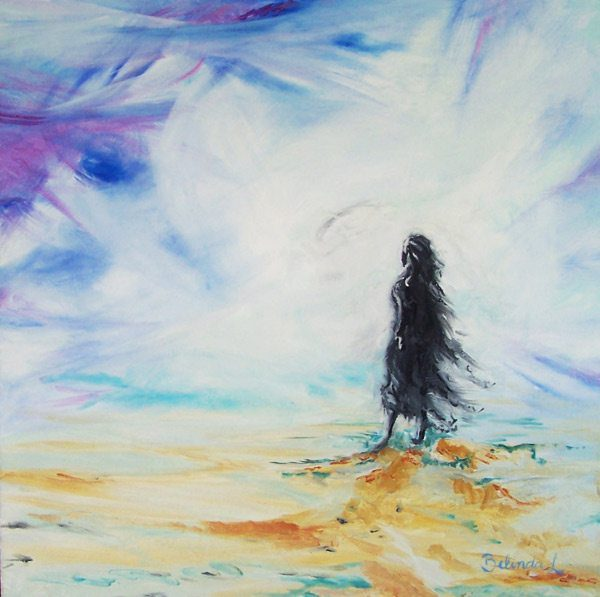Contemplation - Contemporary Art for sale by Central Coast NSW Artist - Belinda Lindhardt