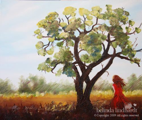 Natural Contemplation - Contemporary Artworks for sale by Central Coast NSW Artist - Belinda Lindhardt