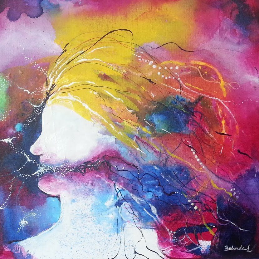 Thinking - Contemporary Art by Belinda Lindhardt