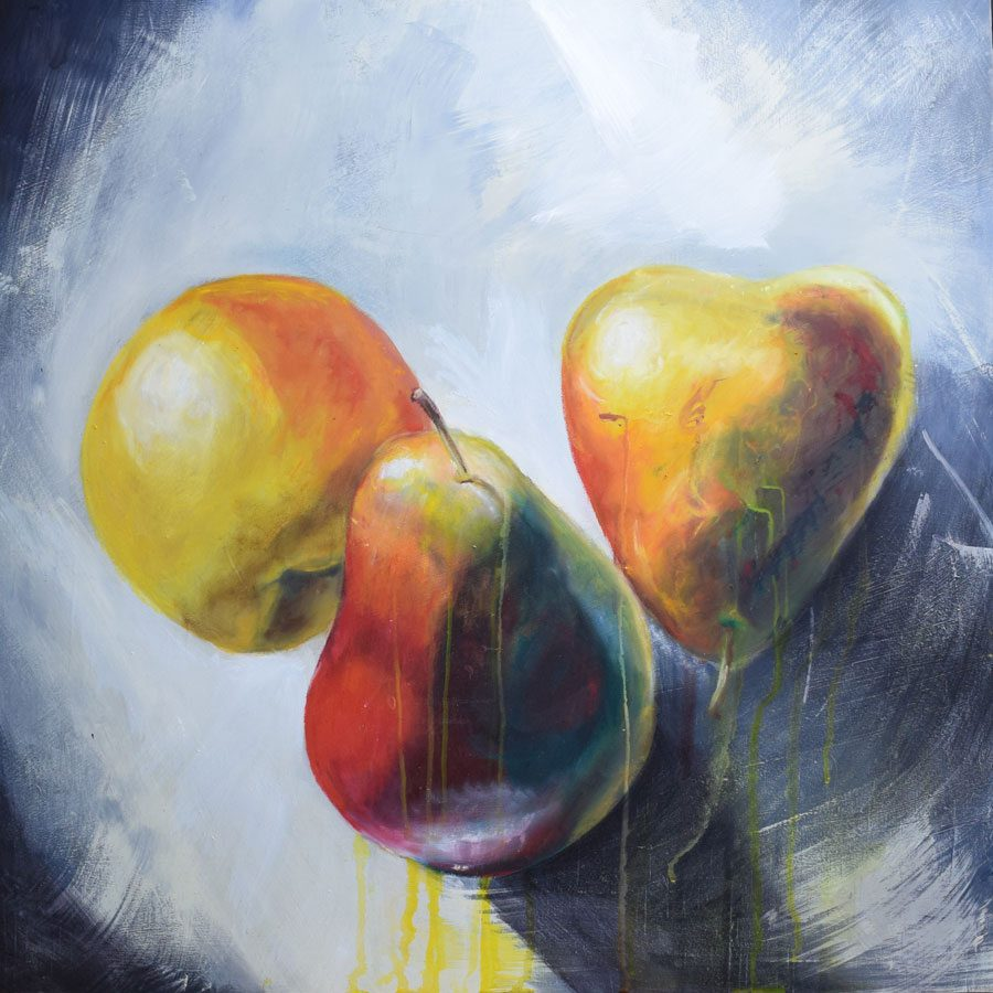 3 Pears - Contemporary Painting