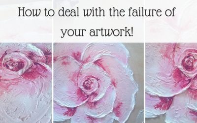 How to deal with the failure of your artwork!