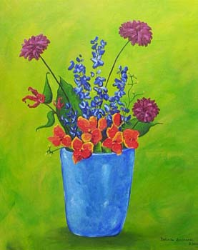 Vase - Contemporary Artworks for sale by Central Coast NSW Artist - Belinda Lindhardt