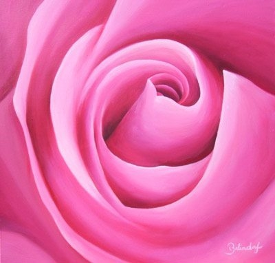 Mams Rose - Contemporary Artworks for sale by Central Coast NSW Artist - Belinda Lindhardt