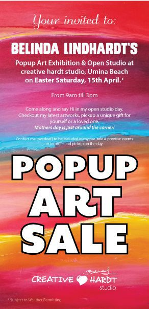 Open Art Studio - Popup Art - Central Coast 2017