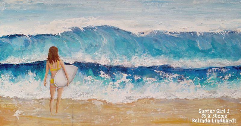 In the studio: New Surfer Girl Artwork