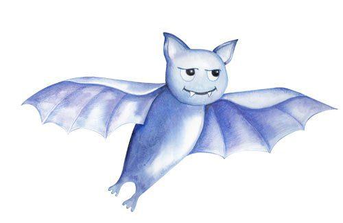 Bat - Childrens Illustration - Belinda Lindhardt - Australian Artist & Illustrator