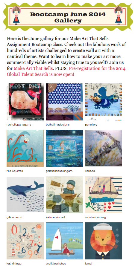Make Art That Sells – June Gallery Nautical