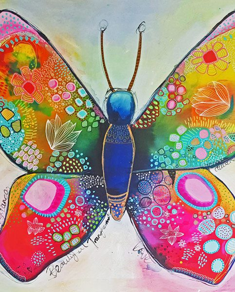 Art Prints for sale by Artist - Butterfly - Belinda Lindhardt, Central Coast NSW