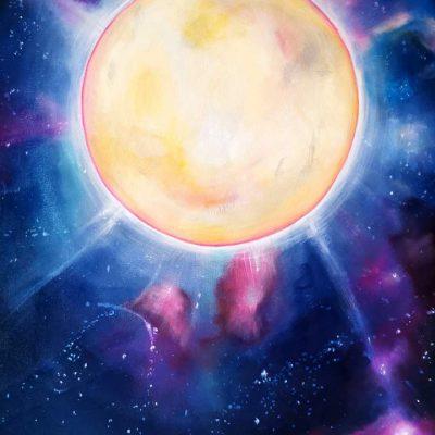 Art Print - Moonlight by Belinda Lindhardt Australian Artist