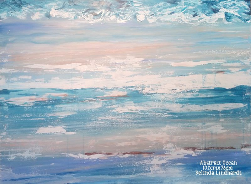 In the Studio: New Artwork – Ocean Painting