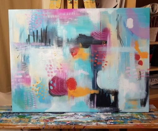 Joyous Abstraction - Original Abstract Artwork