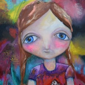 Mixed Media Artist - Australia, Belinda Lindhardt - Original Painting