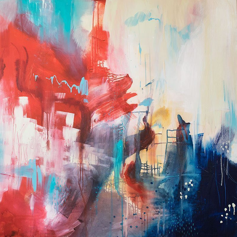 Abstract Artwork by Artist Belinda Lindhardt