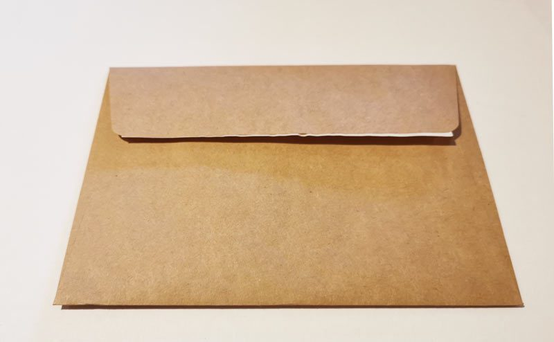Art Greeting Card - Envelope