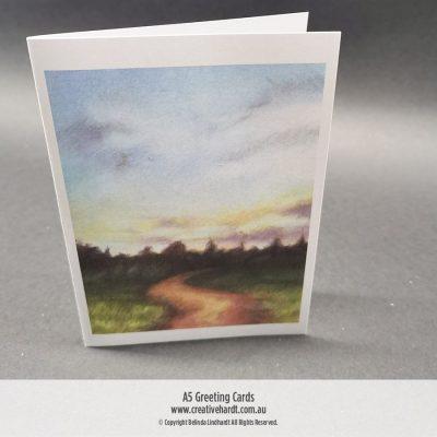 Art Greeting Cards - Journeys by Australian Artist Belinda Lindhardt