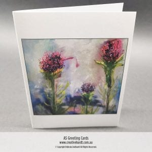Art Greeting Cards - Summer Beauties