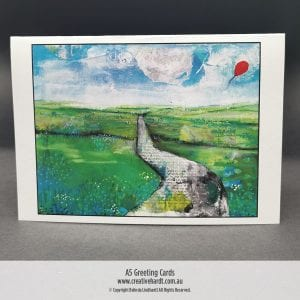 Art Greeting Cards -The Journey by Australian Artist Belinda Lindhardt