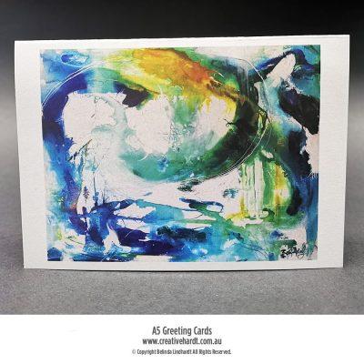 Art Greeting Cards -Underwater Discoveries by Australian Artist Belinda Lindhardt