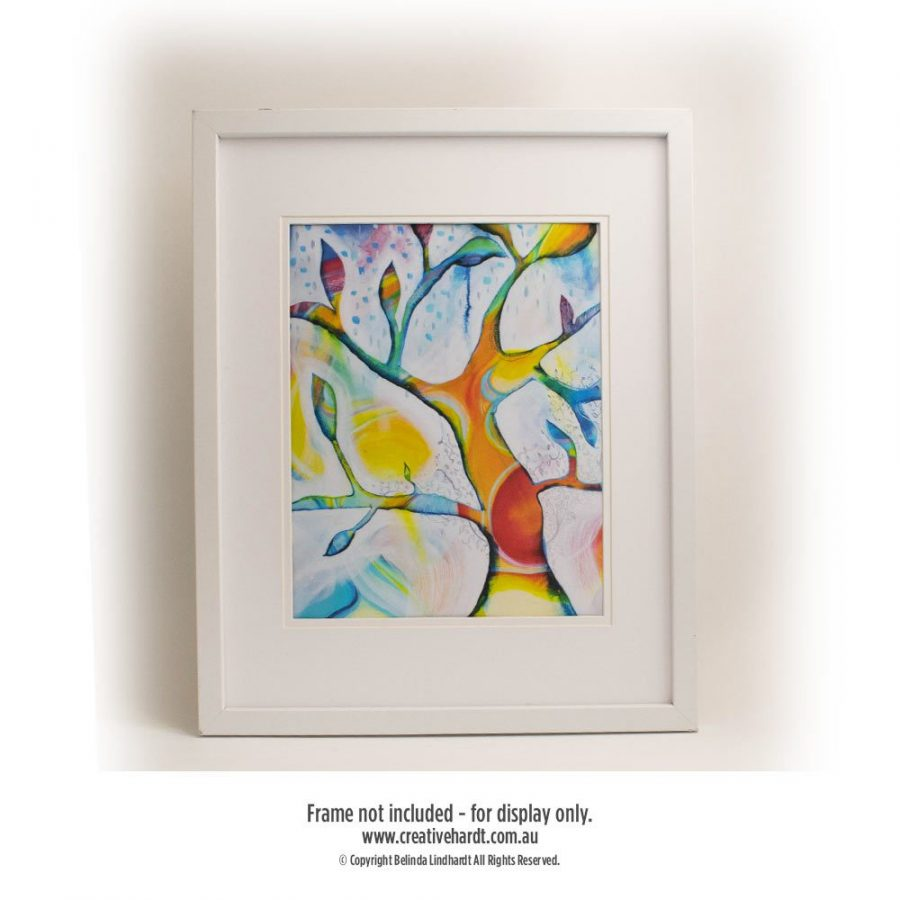 Art Prints for sale - Tree of Life -8X10 with Matt