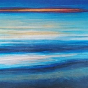 Beach Painting - Original - Central Coast, NSW Belinda Lindhardt