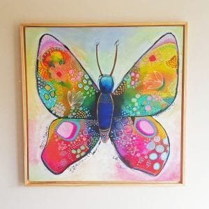 Beautiful Transformation - Guided Painting by Belinda Lindhardt