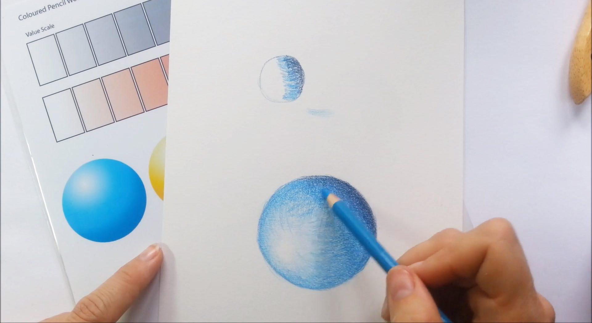 Online Coloured Pencil Class - Techniques Tutor