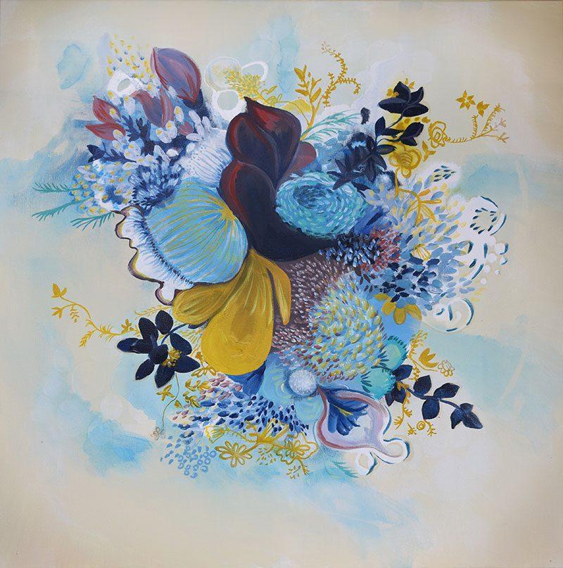 Bouquet - New Artwork - Contemporary Floral