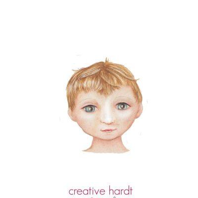 Boy Character Illustration - creativehardt studio
