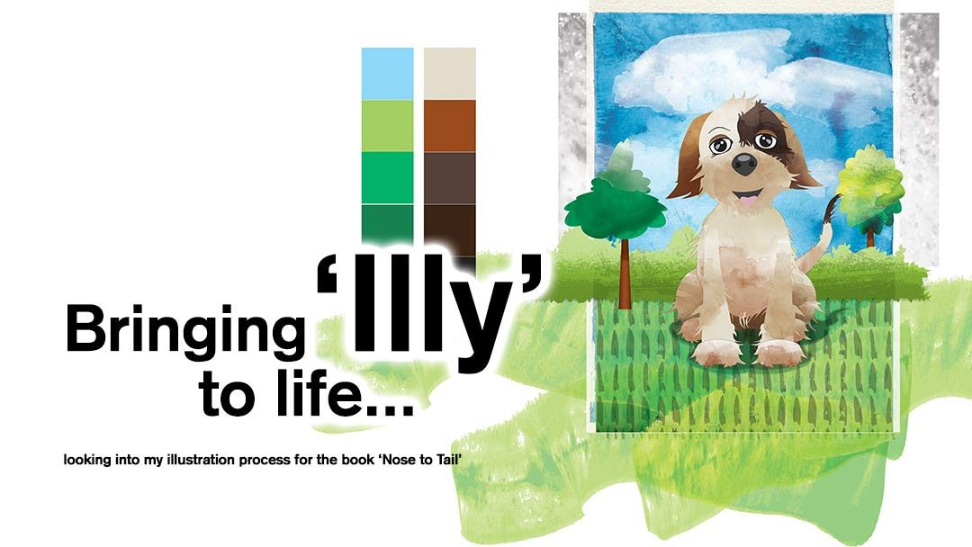 Bringing 'Illy' to life – Instructional Book Illustrations