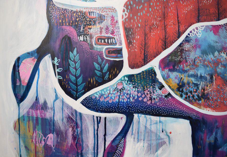 Convergence - Mixed Media Artwork