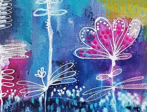 Contemporary Art for Sale by Artist - Summer Fields by Belinda Lindhardt