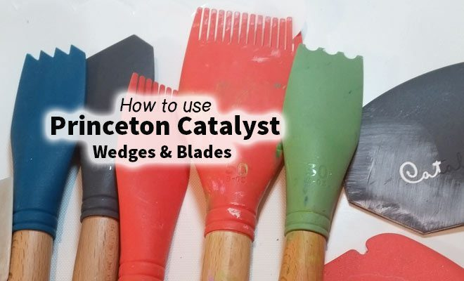How to use the Princeton Catalyst wedges & blades #craftycrusaders