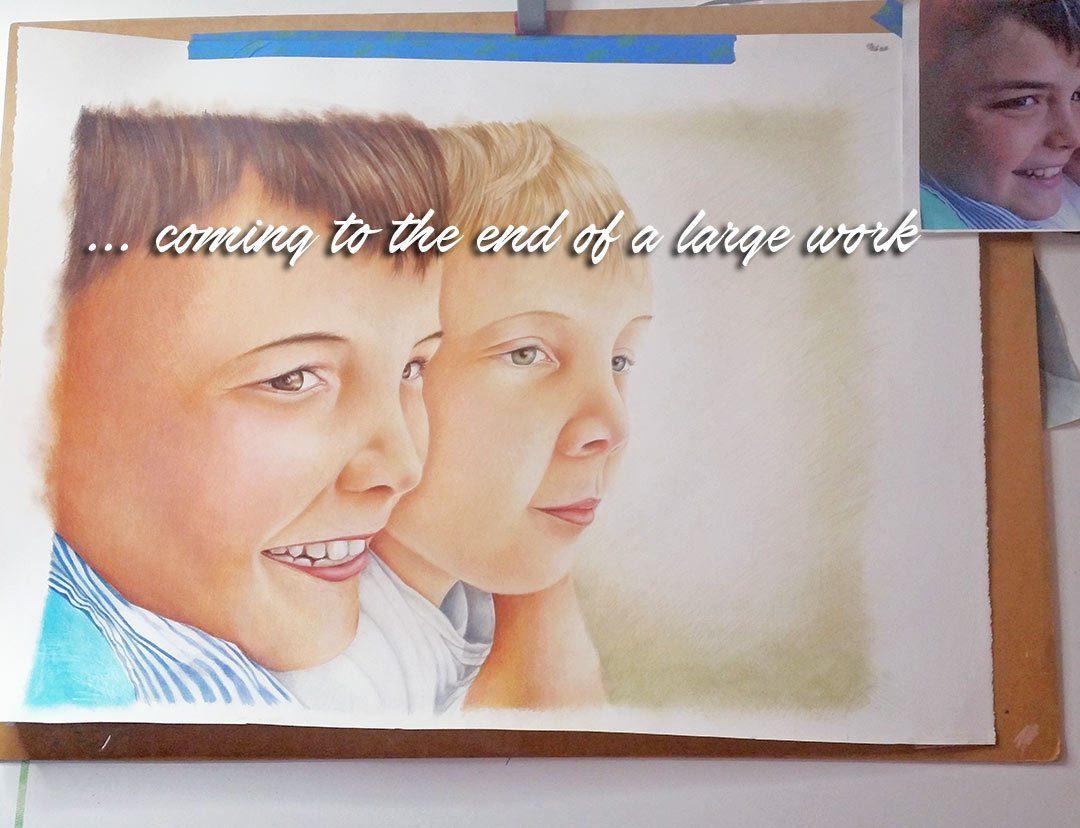 Portrait Artist - Belinda Lindhardt - Art Story