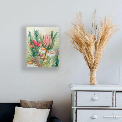Wildflower Bouquet - Floral Painting by Belinda Lindhardt