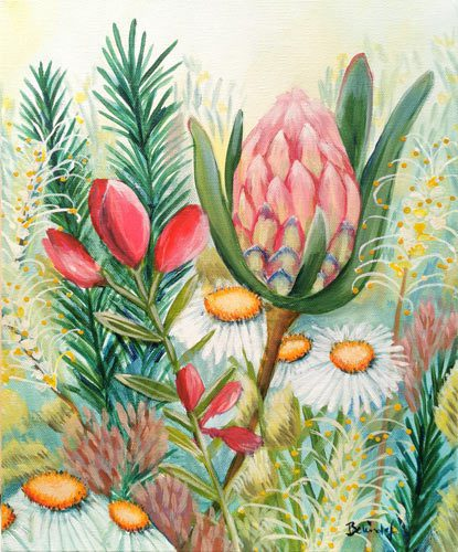 WildFlower Bouquet - Greeting Card