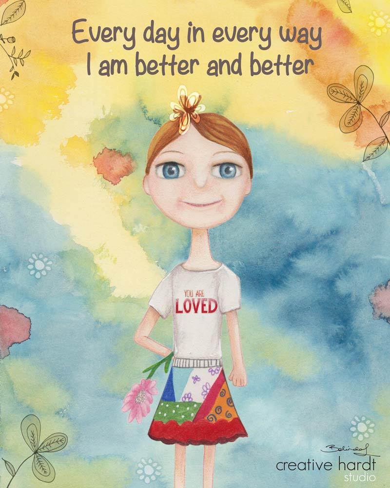 Everyday Illustration  - Belinda Lindhardt - Australian Artist & Illustrator