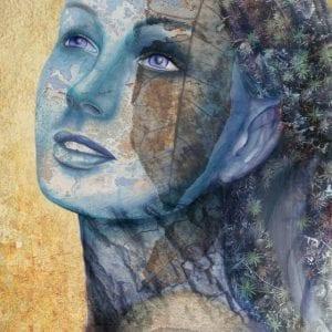 Dyrad - Art Print by Belinda Lindhardt