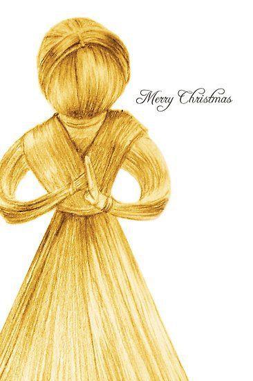 Unique -Christmas Card Designs - Illustrator Belinda Lindhardt