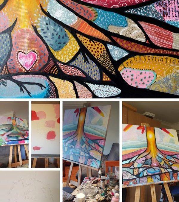 Grounding Painting –  New Work