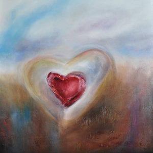 Heart Soul - Contemporary Art by Belinda Lindhardt