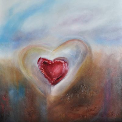 Heart Soul - Contemporary Art by Belinda Lindhardt