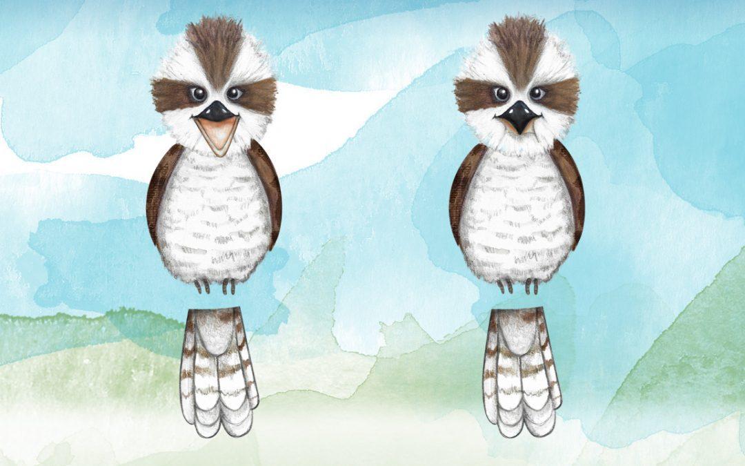 Illustration, Animation Australia - Kookaburra - Belinda Lindhardt - Central Coast NSW, Sydney