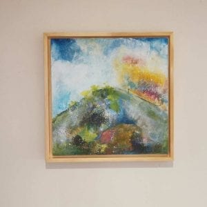 Landscape Painting - Original - High Hill