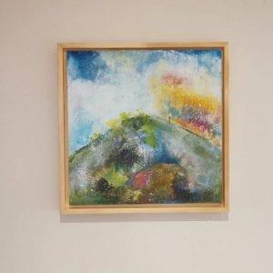 Landscape Painting - Original - High Hill