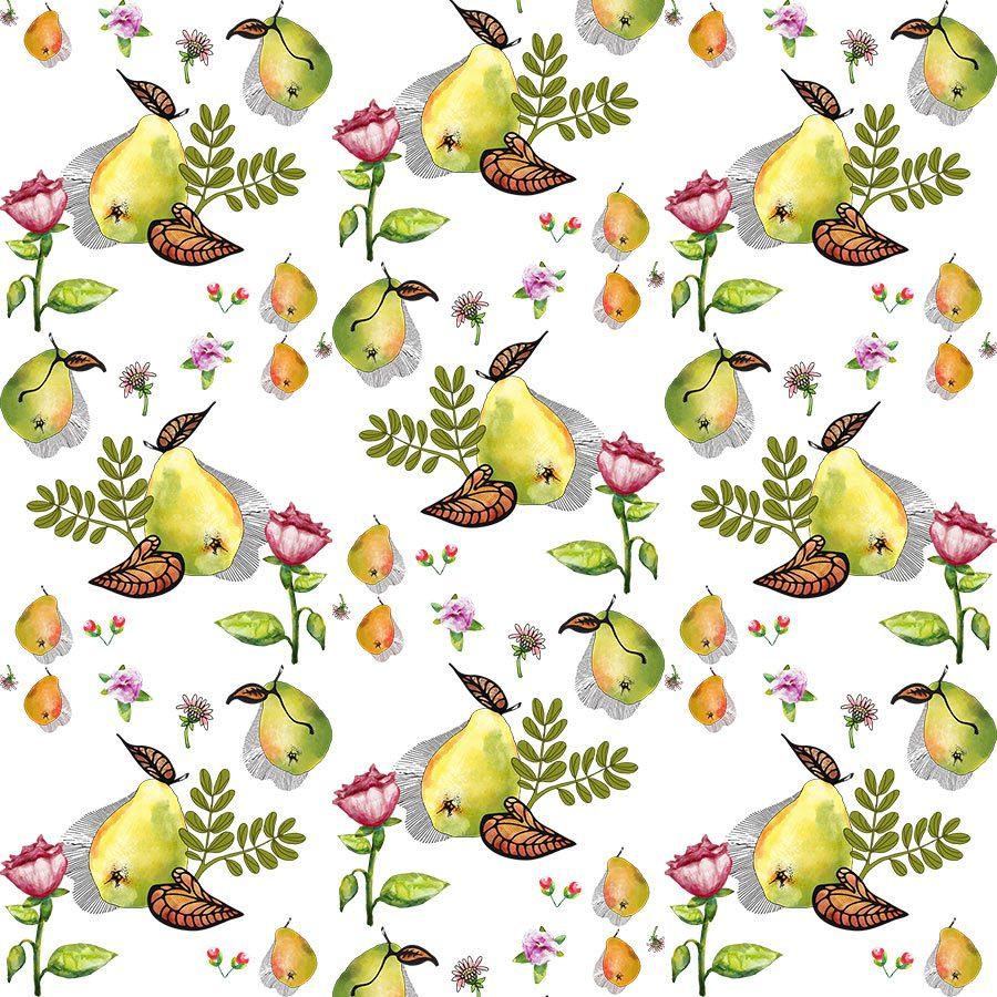 Pear Pattern - Illustrations
