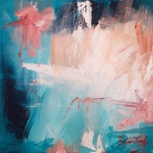 Original Abstract Painting - Belinda Lindhardt