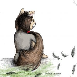Squirrel Illustration - Creativehardt studio
