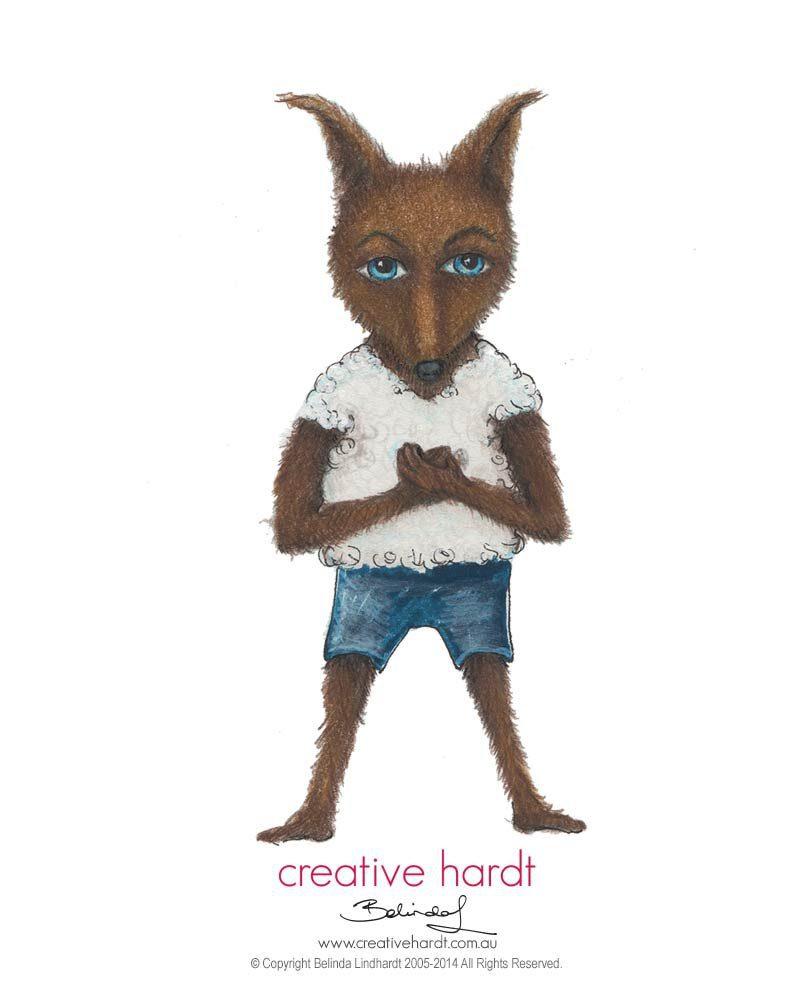 Wolf in Sheep's Clothing Illustration Belinda Lindhardt - Australian Artist & Illustrator